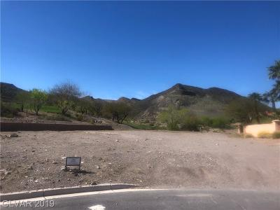Henderson Residential Lots & Land For Sale: 1 Camino Barcelona Place