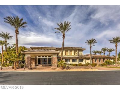 Las Vegas Single Family Home For Sale: 10000 Hidden Knoll Court