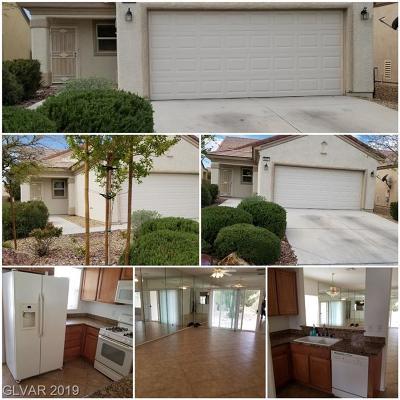 North Las Vegas Single Family Home For Sale: 2621 Desert Sparrow Avenue