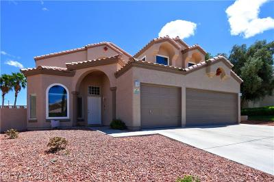 Henderson Single Family Home Under Contract - No Show: 2160 Fountain Springs Drive