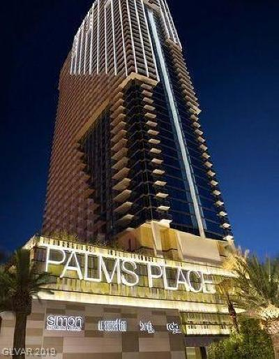 Palms Place A Resort Condo & S High Rise For Sale: 4381 Flamingo Road #3212