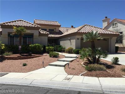 Sun City Summerlin Single Family Home Under Contract - No Show: 9409 Eagle Valley Drive
