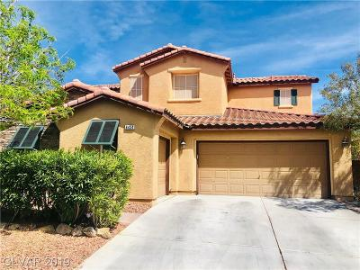 North Las Vegas Single Family Home For Sale: 6434 Gilded Flicker Street