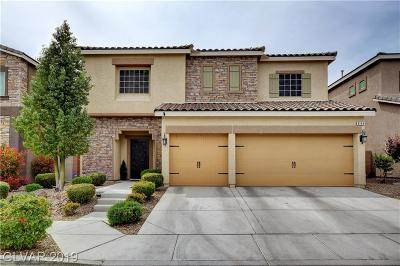 Las Vegas Single Family Home Under Contract - No Show: 8149 Smoking Jacket Place
