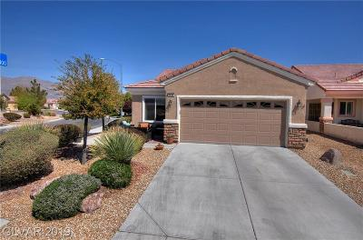 North Las Vegas Single Family Home Under Contract - Show: 7436 Petrel Street