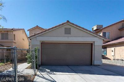 Las Vegas NV Single Family Home Under Contract - No Show: $235,000