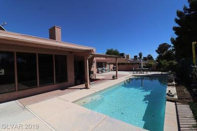 Las Vegas, North Las Vegas, Henderson Single Family Home For Sale: 1201 Oak Tree Lane