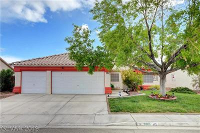 North Las Vegas Single Family Home For Sale: 3915 Toulouse Court