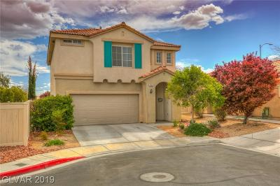 North Las Vegas Single Family Home Under Contract - No Show: 4733 Cliff Palace Court