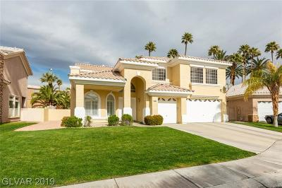 Las Vegas Single Family Home Under Contract - No Show: 4703 Stavanger Lane