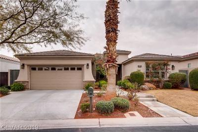 Red Rock Cntry Club At Summerl Single Family Home For Sale: 11249 Parleys Cone Court