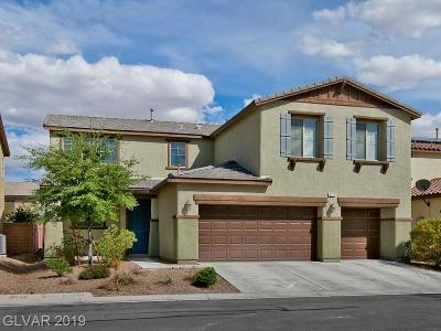 North Las Vegas Single Family Home Under Contract - No Show: 6732 Journey Hills Court