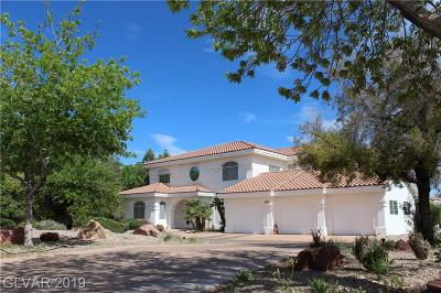Boulder City Single Family Home For Sale: 101 Temple Rock Road