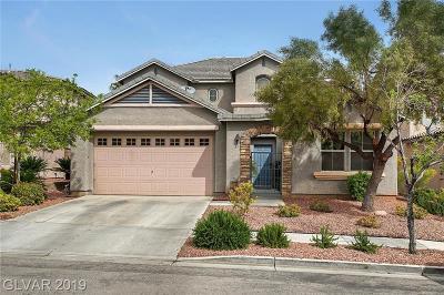 Las Vegas NV Single Family Home For Sale: $474,900