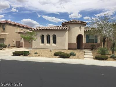 North Las Vegas Single Family Home For Sale: 6916 Forest Gate Street