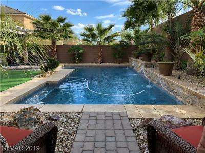 Las Vegas Single Family Home Under Contract - No Show: 7513 Royal Crystal Street
