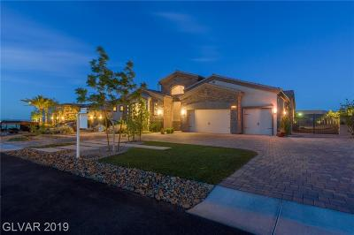 Henderson Single Family Home Under Contract - Show: 1020 Crystal Heights Court