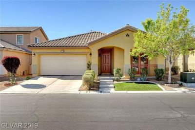North Las Vegas Single Family Home For Sale: 3713 Jasmine Heights Avenue