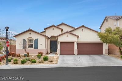 Las Vegas Single Family Home For Sale: 10127 Darrow Court