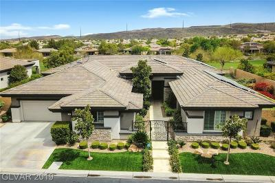 Henderson Single Family Home For Sale: 63 Isleworth Drive