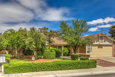 Henderson Single Family Home For Sale: 2864 Mahogany Grove Avenue