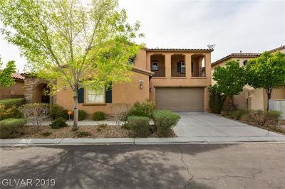 Las Vegas Single Family Home Under Contract - No Show: 7885 Alameda Creek Street