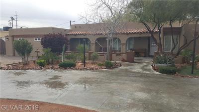 Las Vegas, North Las Vegas, Henderson Single Family Home For Sale: 4871 Reiter Avenue