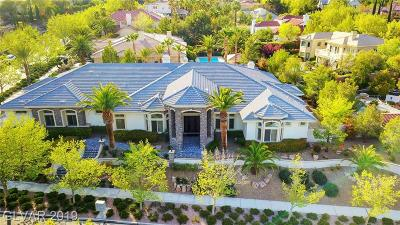 Las Vegas Single Family Home For Sale: 9800 Moonridge Court