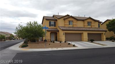 NORTH LAS VEGAS Condo/Townhouse For Sale: 3881 Jamison Park Lane