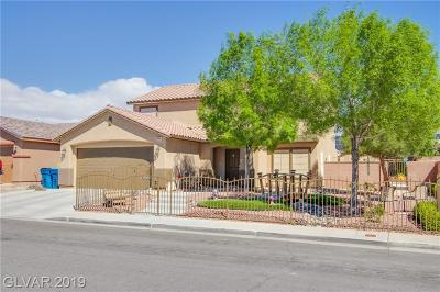 Las Vegas Single Family Home Under Contract - No Show: 5544 Old Stable Avenue