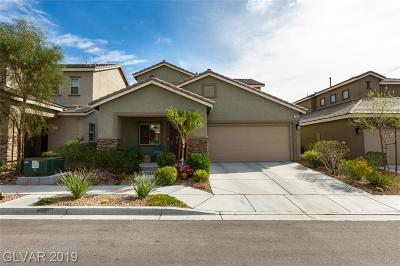 Las Vegas Single Family Home Under Contract - No Show: 7864 Eastern Elk Street