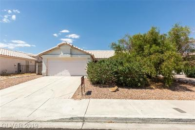 North Las Vegas Single Family Home For Sale: 4600 La Madre Way