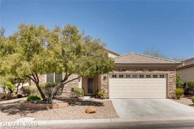 Henderson Single Family Home For Sale: 2500 Solera Sky Drive