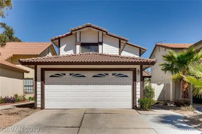 Las Vegas Single Family Home Under Contract - No Show: 8144 Leger Drive