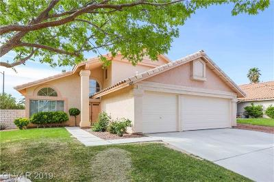 North Las Vegas Single Family Home For Sale: 1219 Heather Ridge Road