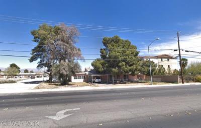 Las Vegas Multi Family Home For Sale: 5740 East Lake Mead Boulevard