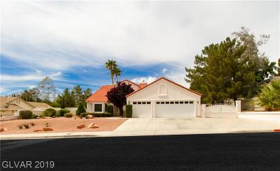 Boulder City Single Family Home Under Contract - No Show: 1566 Torrey Pines Drive
