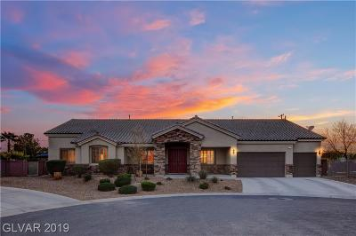 Las Vegas Single Family Home For Sale: 156 Ozuna Court