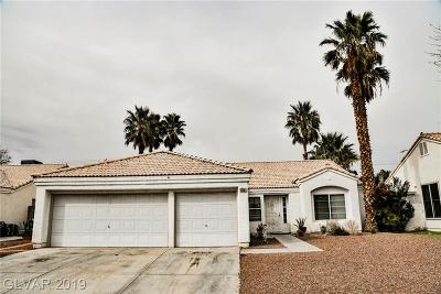 Las Vegas NV Single Family Home Under Contract - No Show: $294,500