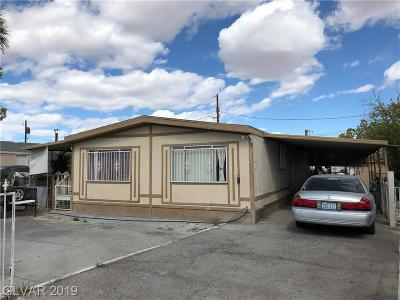 Las Vegas Single Family Home Under Contract - Show: 2212 Christy Lane
