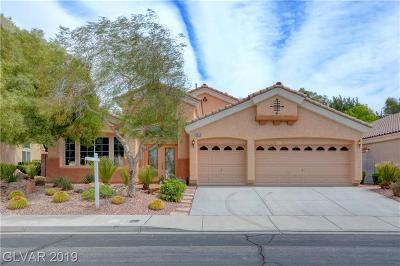 Henderson Single Family Home Under Contract - No Show: 1310 Rossini Street