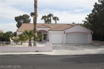 Las Vegas Single Family Home For Sale: 755 Eldorado Lane