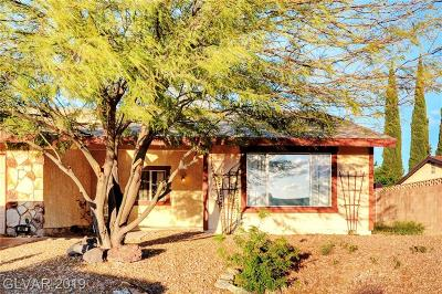 Boulder City Single Family Home For Sale: 1401 Stacey Lane
