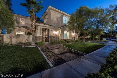 Las Vegas Single Family Home For Sale: 10895 Willow Heights Drive
