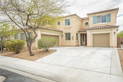 North Las Vegas Single Family Home Under Contract - No Show: 6936 Forest Gate Street