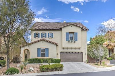 Henderson Single Family Home For Sale: 840 Valley Brush Street