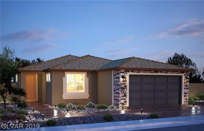 North Las Vegas Single Family Home For Sale: 7229 Bedazzle Street #Lot #139