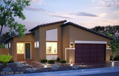 North Las Vegas Single Family Home For Sale: 7233 Bedazzle Street #Lot #138