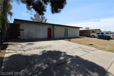 Las Vegas Multi Family Home For Sale: 2105 15th Street