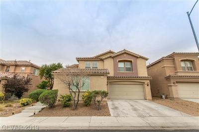 North Las Vegas Single Family Home For Sale: 2205 Mountain Rail Drive